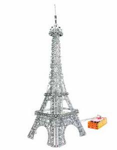 Giocattolo Meccano. Torre Eiffel 2.0 Con Luci Led 1500 Pz Meccano