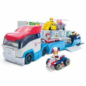 Paw Patrol. Paw Patroller. Camion Grande Con Ryder E Quad - 4
