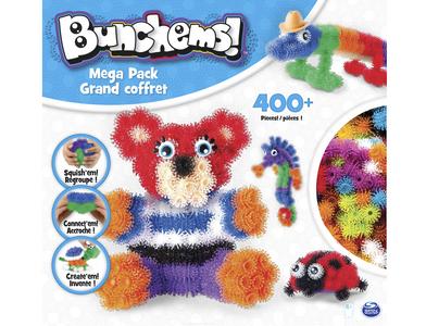 Giocattolo Bunchems. Kit Mega. Confezione 370 Bunchems e 36 Accessori Spin Master 0