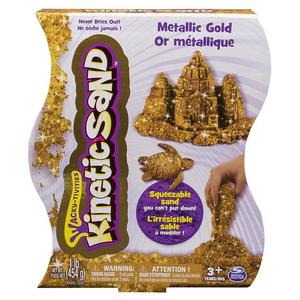 Giocattolo Kinetic Sand: Sabbia Modellabile Oro 454 g Spin Master 0