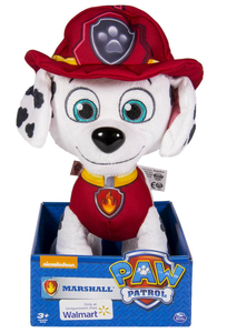 Giocattolo Paw Patrol. Peluche Deluxe Marshall Spin Master 0
