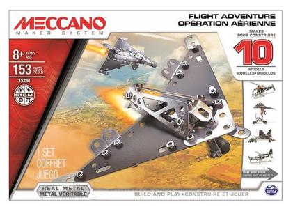 Giocattolo Meccano. Flight Adventure. Confezione 10 Modelli 150 pezzi Meccano 0