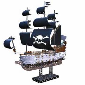 Giocattolo Meccano. Veliero Dei Pirati 630 Pz Meccano 0