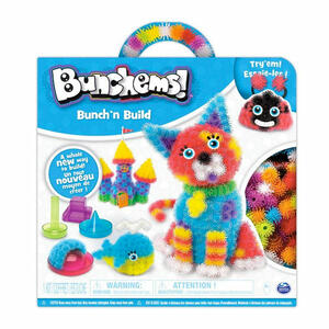BUNCHEMS Bunch 'n Build - Kit con Formine