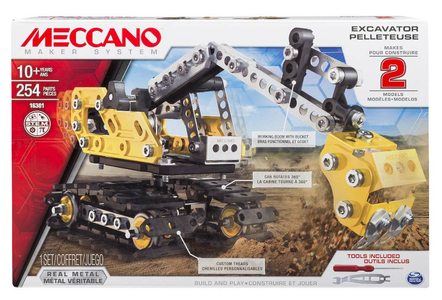 Giocattolo Meccano. Escavatore Spin Master