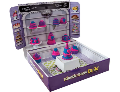 Giocattolo Kinetic Sand Build. Playset Pasticceria Spin Master 0