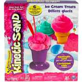 Giocattolo Kinetic Sand Ice Cream. Kit Gelati Spin Master