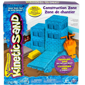 Giocattolo Kinetic Sand Construction. Kit Cantiere Spin Master