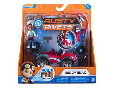 Rusty Rivets. Personaggi Con Veicolo
