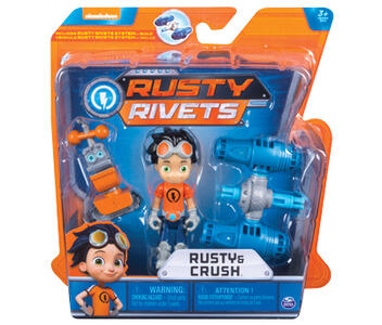 Rusty Rivets. Mini Personaggi