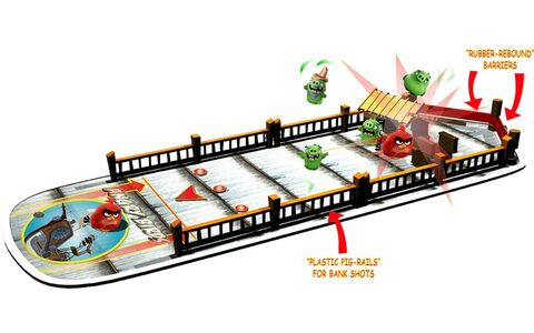 Giocattolo Angry Birds. Attacco alla Nave Suina Spin Master