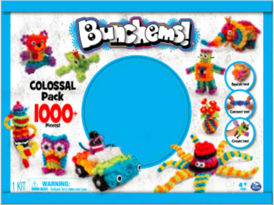 Giocattolo Bunchems. Kit 1000 Spin Master 0
