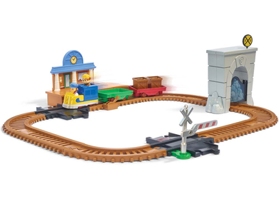Giocattolo Paw Patrol On a Roll. Playset Treno Spin Master 0