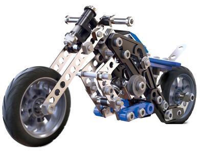 Meccano. Motocicletta 5 Modelli 160 Pz - 2