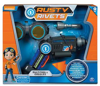 Rusty Rivets. Set Da Lavoro