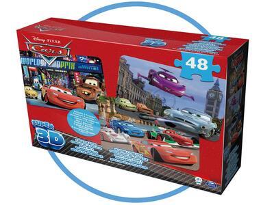 Confezione 3 Puzzle Disney Boys Lenticolare 3D - 2