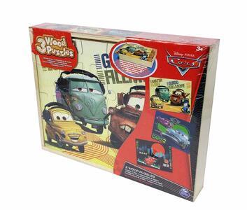 Puzzle in Legno Cars