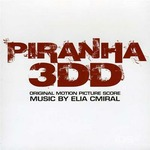 Cover CD Colonna sonora Piranha 3DD