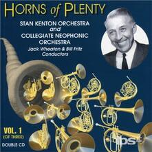 Horns of Plenty 1 - CD Audio di Stan Kenton