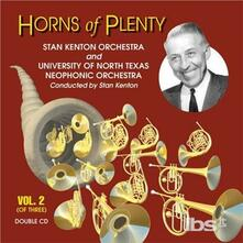Horns of Plenty 2 - CD Audio di Stan Kenton