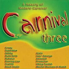 Carnival Three - CD Audio