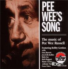 Pee Wee's Song - CD Audio di Bobby Gordon