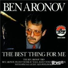 Best Thing For Me - CD Audio di Ben Aronov