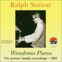 Wondrous Piano.private fa - CD Audio di Ralph Sutton