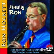 Finally Ron - CD Audio di Ron Hockett
