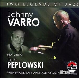 Two Legends of Jazz - CD Audio di Johnny Varro
