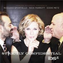 Strictly Confidential - CD Audio di Rossano Sportiello,Nicki Parrott,Eddie Metz