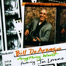 Anything Went - CD Audio di Joe Lovano,Bill De Arango
