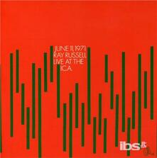 Live at I.c.a. - CD Audio di Ray Russell