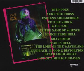 An Overdose of Death - CD Audio di Toxic Holocaust - 2