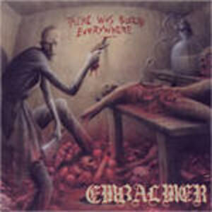 There Was Blood Everywhere - CD Audio di Embalmer
