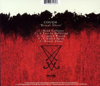 Ritual Abuse - CD Audio di Cough - 2