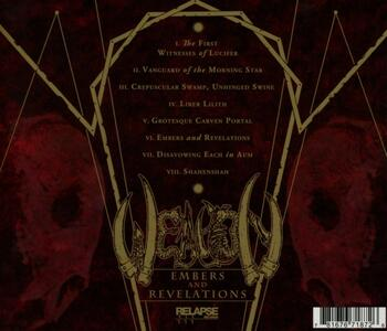 Embers and Revelations - CD Audio di Weapon - 2
