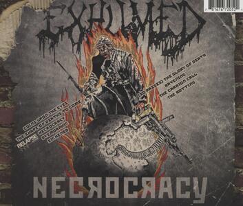 Necrocracy - CD Audio di Exhumed - 2