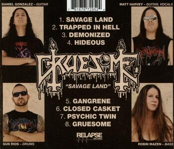 Savage Land - CD Audio di A Gruesome Find - 2