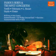 Concerti per corno e tromba - CD Audio