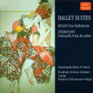 Ein Ballettsuite / Pulcinella - Jeu de cartes - CD Audio di Igor Stravinsky,Max Reger,Otmar Suitner,Herbert Kegel