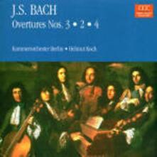 Suites per orchestra n.2, n.3, n.4 - CD Audio di Johann Sebastian Bach
