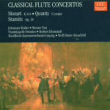 Concerti per flauto - CD Audio di Wolfgang Amadeus Mozart,Carl Stamitz,Johann Joachim Quantz