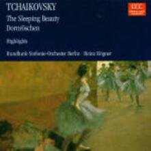 La bella addormentata (Suite) - CD Audio di Pyotr Ilyich Tchaikovsky,Radio Symphony Orchestra Berlino,Heinz Rögner