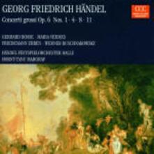 Concerti grossi op.6 n.1, n.4, n.8, n.11 - CD Audio di Georg Friedrich Händel