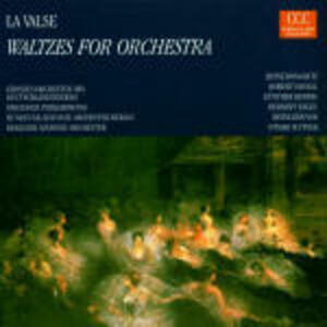 La valse: Valzer per orchestra - CD Audio
