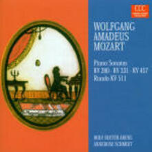 Sonate per pianoforte K280, K331, K457 - Rondò K511 - CD Audio di Wolfgang Amadeus Mozart