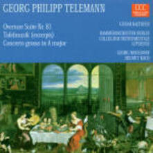 Opere orchestrali - CD Audio di Georg Philipp Telemann