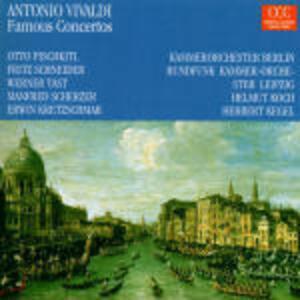 Concerti famosi - CD Audio di Antonio Vivaldi