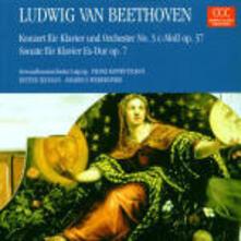 Concerto per pianoforte n.3 - Sonata per pianoforte n.4 - CD Audio di Ludwig van Beethoven,Gewandhaus Orchester Lipsia,Franz Konwitschny,Dieter Zechlin
